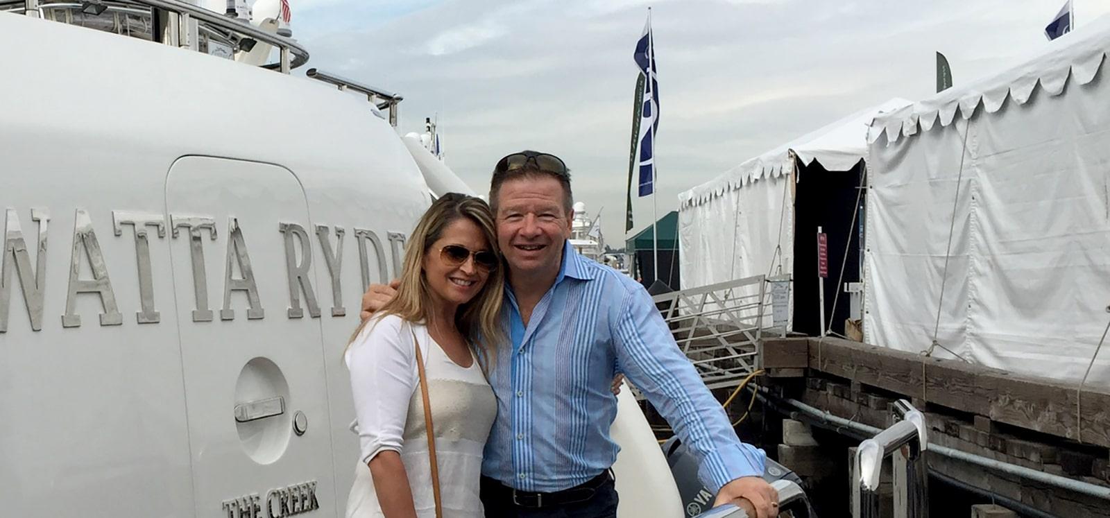 Randy and Raye-Lynn Jassman Boating