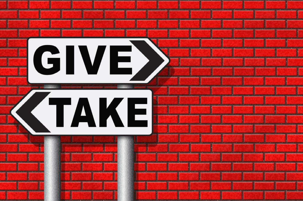 give or take altruism